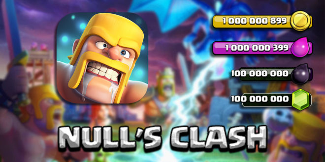 Null's Clash - Сервер Clash of Clans от Opegit Studio