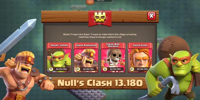 Скачать Null's Clash 13.180 - супервоины и новые уровни